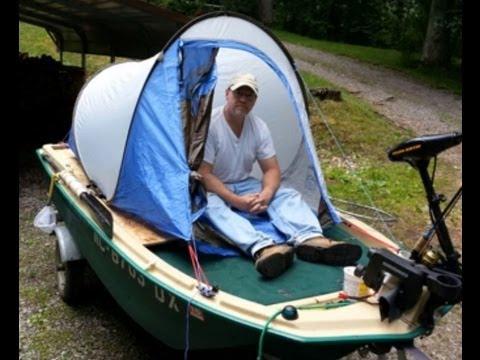 Falboz Boat Tent & Falboz Boat Tent - YouTube