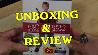 HOME ALONE - Blu-rayTarget Exclusive-( Unboxing And Review ) 1 & 2
