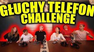 GŁUCHY TELEFON CHALLENGE! *WHISPER CHALLENGE*