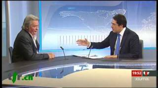 Interview d'Alain Delon par Darius Rochebin (2009)