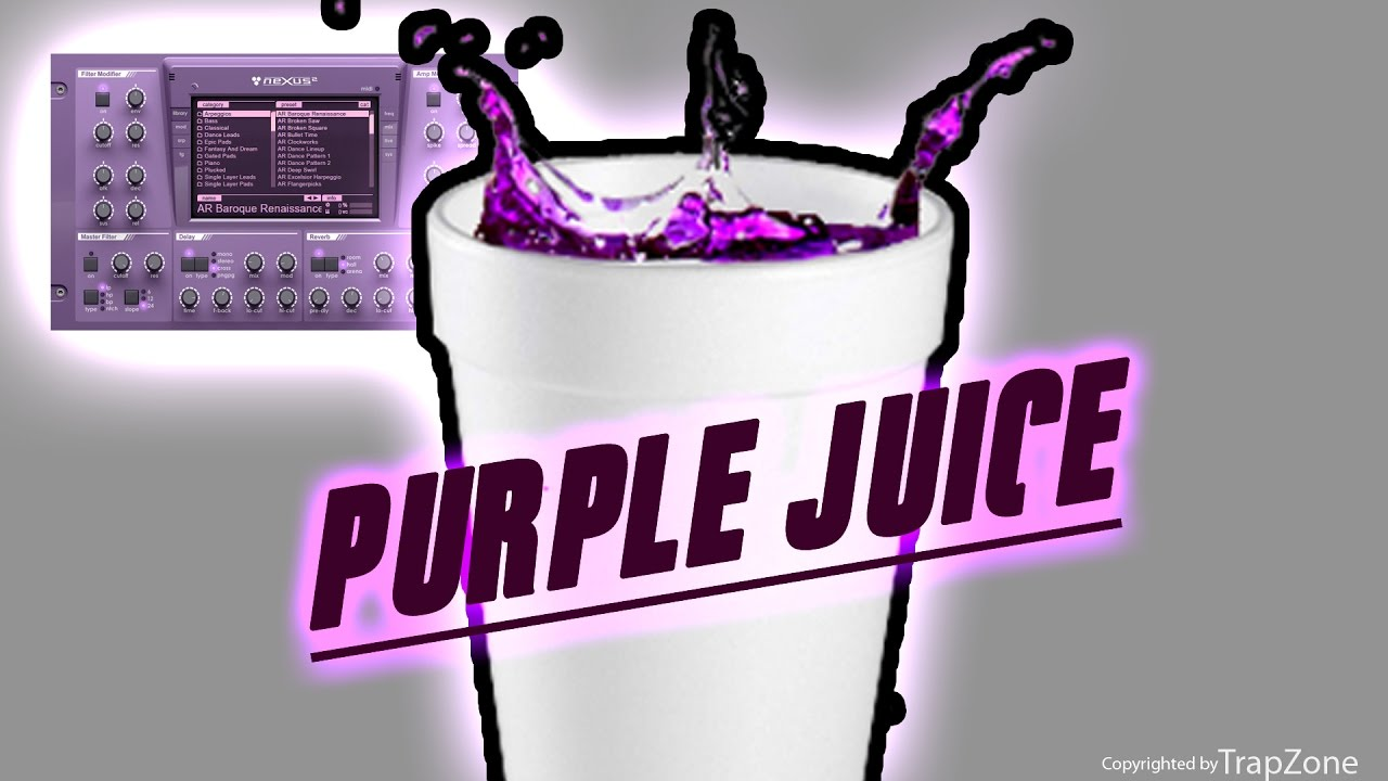 Purple juice Trap Expansion pack Free Download   Producer