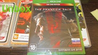 Unbox Metal Gear Solid V: The Phantom Pain Day 1 Edition для XBOX ONE от Gerki