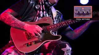 BOSS DA-2 Adaptive Distortion Playing Examples with John 5