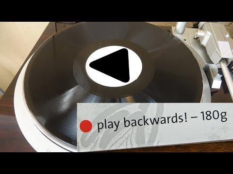 This Backwards Vinyl Record isn't just a gimmick