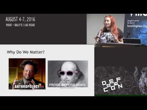 DEF CON 24 - SE Village - Cyni Winegard, Bethany Ward - Human Hacking: You ARE the Weak Link