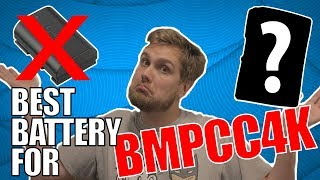 The BEST Battery for the BMPCC4K | Power the Pocket 4k ALL DAY