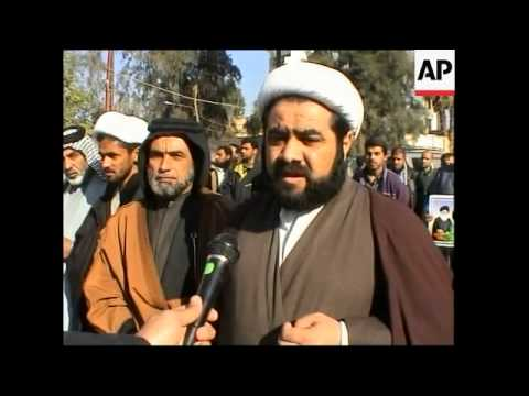 Shiite Muslims rally to demand Saddam's execution