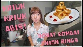 MASAK ONION RINGS ALA RESTORAN PAKE SODA, KRIUKKRIUK!