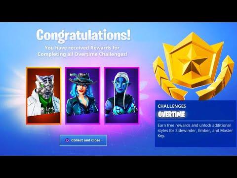 The New OVERTIME REWARDS in Fortnite! (SEASON 8)