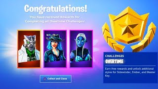 The New OVERTIME REWARDS in Fortnite! (SEASON 8)