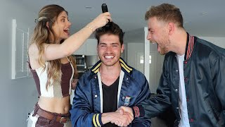 Buzzing Our Heads with Hannah Stocking | Gregg Sulkin and Cameron Fuller