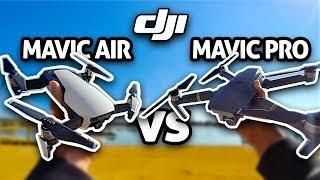 DJI Mavic Air vs Mavic Pro!! (4K)