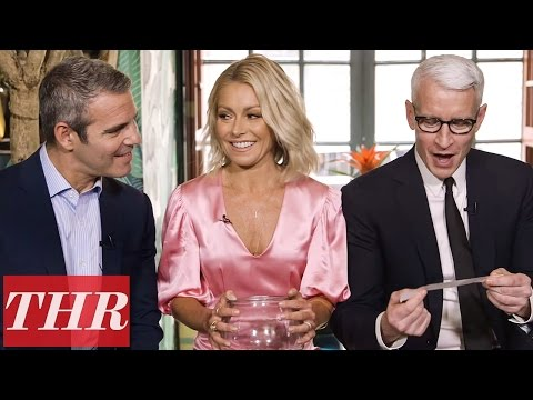 Thumbnail: Anderson Cooper, Kelly Ripa & Andy Cohen on Celebrity Crushes & Oprah | THR Fishing For Answers