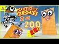 Omg! Numberblocks 200 vs 2 with FlyCam!?! Episode 5