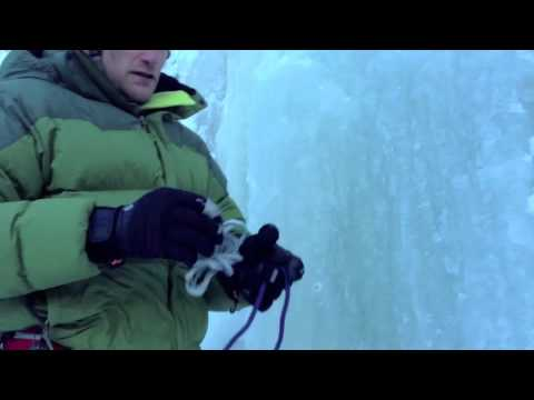 Build a V-Thread Without A V-Thread Tool: Ice Climbing Rappel Anchor
