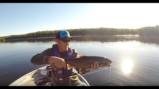 Trolling for Lake Trout June 2018
