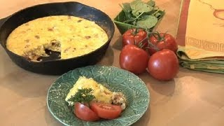 Low-carb Bacon & Cheese Frittata : Nutrition & Healthy Eating