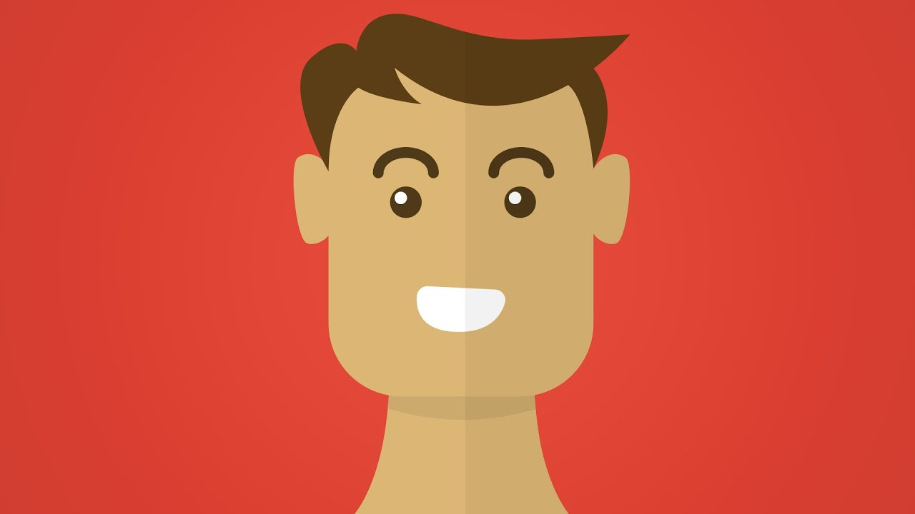 Flat Character Design Tutorial : Illustrator tutorial flat design portraits youtube