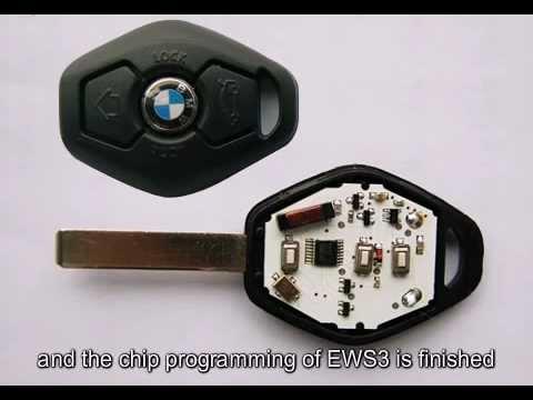 BMW EWS3 Key Programming Instruction - YouTube