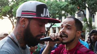 FREE CONVICT -   Batalla Freestyle Suéltale el Beat en Caracas - Anestesia vs Ramthewan YouTube Videos