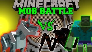 KIRIN VS MUTANT ZOMBIE & JUMPY BUG - Minecraft Mob Battles - Monster Hunter Mods thumbnail