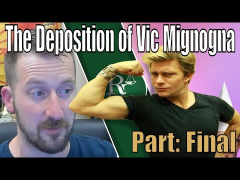 Deposition of Vic Mignogna #4 - The End