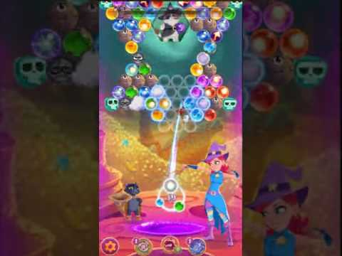 Bubble Witch 3 Saga Level 100 ~ 3 stars ~ no boosters