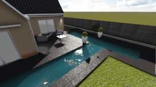 Garden Design Sketchup 2013 and Lumion 3d