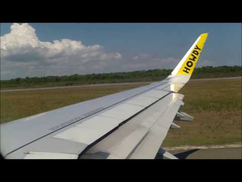 Airbus A321 Spirit Airlines takeoff and landing in Fort Lauderdale and Las Américas Airport