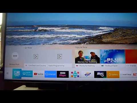 Samsung TV NU7400 Installing APPs On Tizen V4 2018