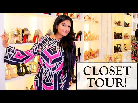 LUXURY CLOSET TOUR!!! | Sonal Maherali