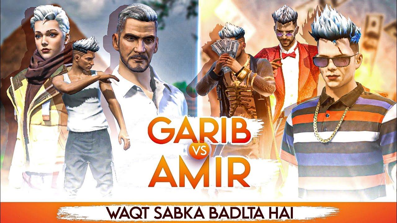 WAQT SABKA BADALTA HAI || Garib vs  Amir || Rich Vs Poor || Best Story Of Free Fire || Kar98 army