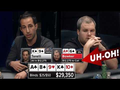 Torelli Puts Bowker AT RISK   S5 E38 Poker Night in America