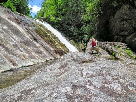 Waterfalls of Steels Creek, Pisgah National Forest, NC