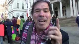 """Randy Credico political satirist:activist:writer   video by Jose Rivera 12:4:13"