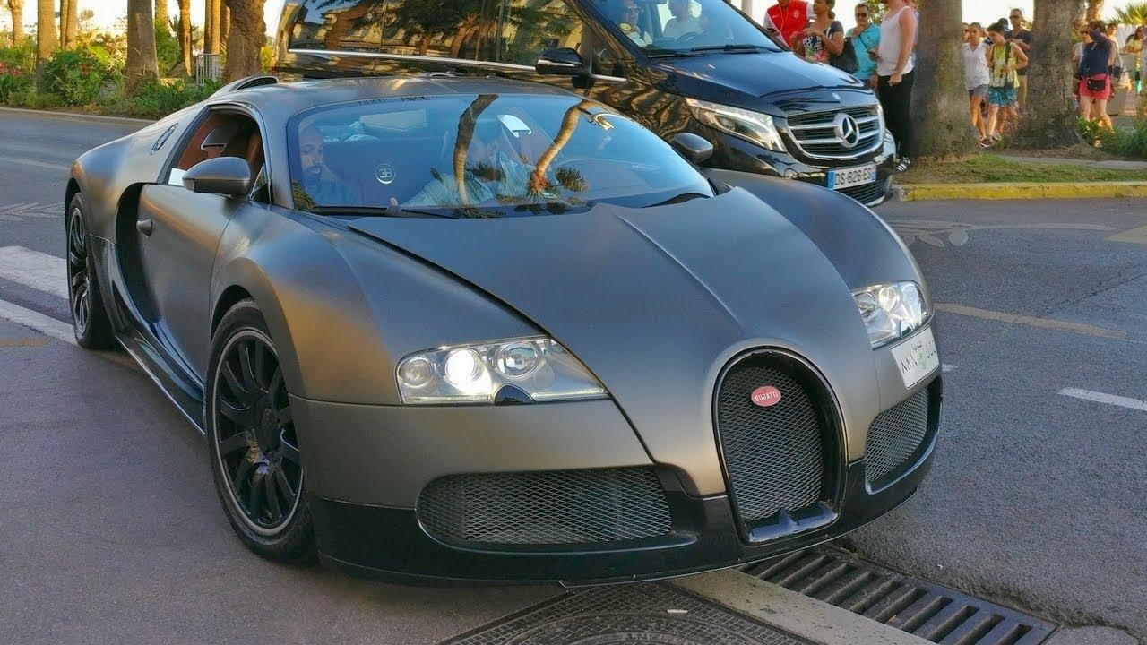 matte grey and black bugatti veyron 16.4 ! - youtube