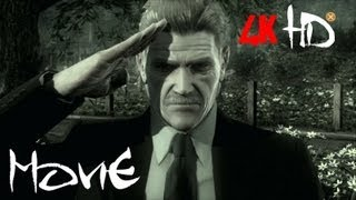 Metal Gear Solid 4 - All Cutscenes/ The Movie [2k HD Remastered]