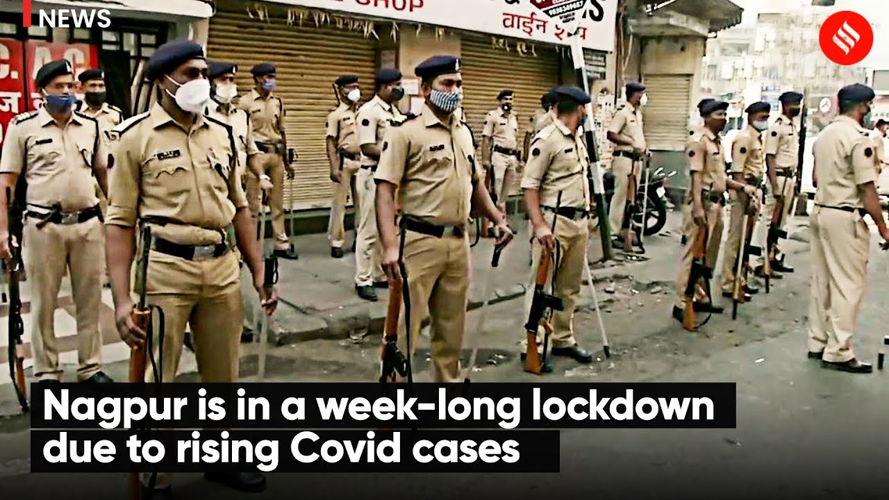 Download Nagpur is in a week-long lockdown due to rising Covid cases | Nagpur Lockdown