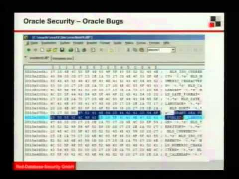 24C3: Latest trends in Oracle Security