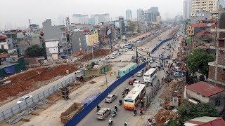 Ngày 10-10, thông xe tuyến Mai Dịch - Nam Thăng Long