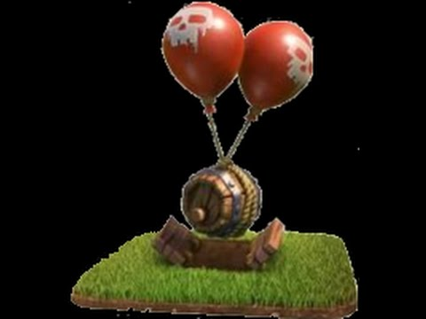 clash of clans Upgrade Air Bomb level 4 (max level)