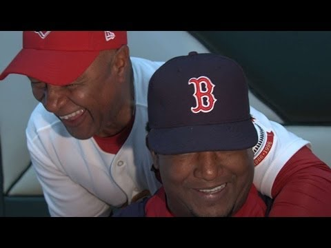 Pedro on HOF chances, gets videobombed by Ozzie Smith