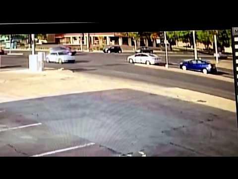 Albuquerque Police Department officer crashes cruiser into car