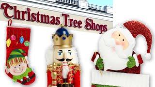Christmas Tree Shops Store Tour - Nutcrackers Ornaments Decorations Decor Crafts