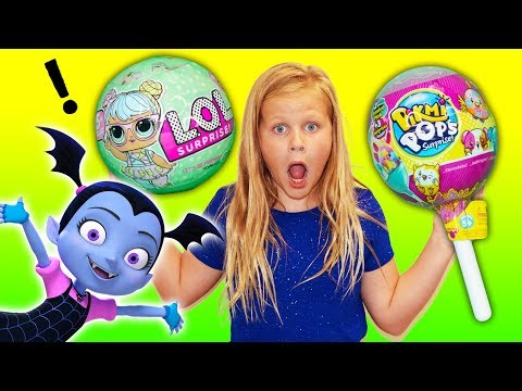 VAMPIRINA Disney Surprise with LOL and Pickmi Pops PJ Masks and Paw Patrol