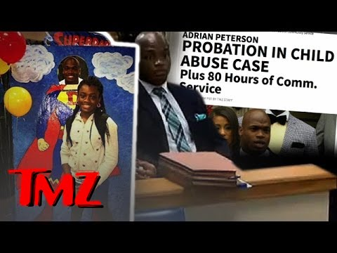 Adrian Peterson:  I'm A Super Dad! | TMZ