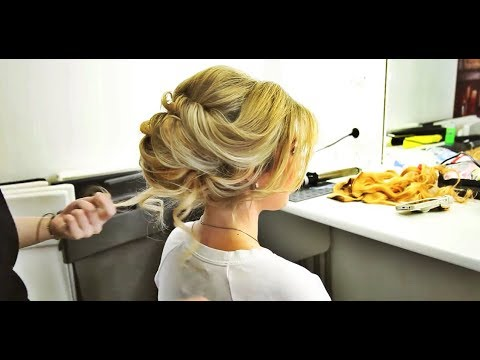 Elegant BUN Hairstyle EASY Updo Hairstyles|Wedding Hairstyle