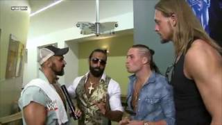 Enzo Amore & Colin Cassady Align with The Legionnaires