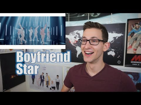 BOYFRIEND - Star MV Reaction