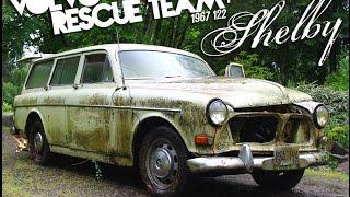 The Volvo Rescue buys a 1967 122s Amazon - Episode 1